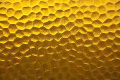 Yellow pattern abstract texture design. Royalty Free Stock Photo
