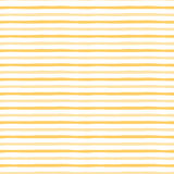 Yellow pattern with handmade stripes. Vector abstract background. Summer bright seamless pattern. Stock Photo