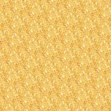 Yellow pattern with small circles Stock Image