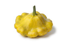Yellow Pattypan Squash Stock Image