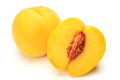 Yellow peach Stock Image