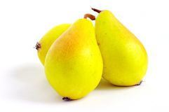 Yellow pear Royalty Free Stock Images