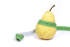 Yellow pear Royalty Free Stock Photography