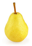 Yellow pear Royalty Free Stock Photos