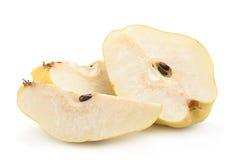 Yellow pear fruit Stock Photo