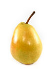 Yellow pear isolated Royalty Free Stock Images