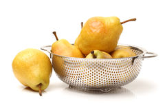 Yellow pear Royalty Free Stock Photo