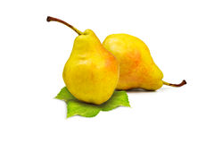 Yellow pear Stock Images