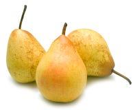 Yellow pears Royalty Free Stock Photos