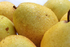 Yellow pears Royalty Free Stock Photo