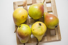 Yellow pears Stock Photography