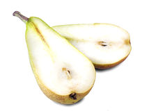 Yellow pears isolated Royalty Free Stock Photo