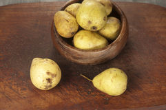 Yellow pears Royalty Free Stock Image