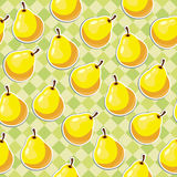 Yellow pears Royalty Free Stock Images