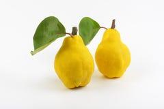 Yellow pears Stock Photo
