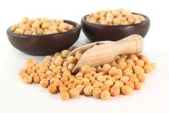 Yellow peas Stock Images