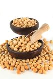 Yellow peas Stock Photography