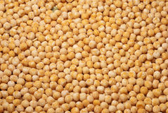 Yellow peas as a background Stock Photo