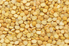 Yellow peas Stock Photo