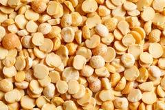 Yellow peas raw food ingredient texture. Macro close up detailed Stock Photos