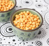 Yellow peas Stock Image