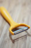 Yellow peeler Royalty Free Stock Photo