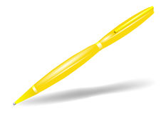 Yellow pen Stock Photo