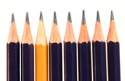 Yellow pencil Stock Photography