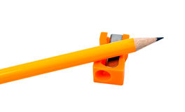 Yellow pencil Royalty Free Stock Image