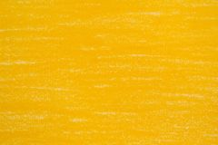 Yellow pencil drawings. On white paper background texture royalty free stock photos