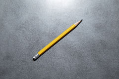 the yellow pencil Stock Photography