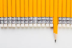 Yellow pencil Stock Image