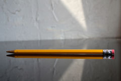 Yellow Pencil Stock Photo