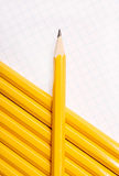 Yellow pencils Stock Photography
