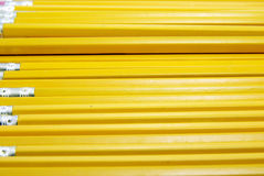 Yellow Pencils Stock Photo