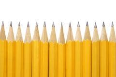 Yellow pencils Royalty Free Stock Photo