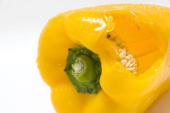The yellow pepper Royalty Free Stock Photography