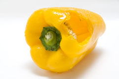 The yellow pepper Royalty Free Stock Images