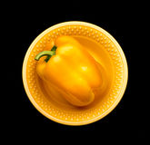 Yellow pepper Royalty Free Stock Photo