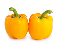 yellow peppers Royalty Free Stock Image