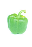 Yellow peppers on white background Royalty Free Stock Photo