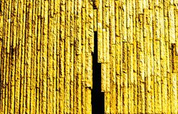 Yellow photo background, wood lines texture stock image