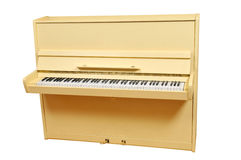 Yellow piano Stock Image