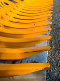 Yellow Pickup Teeth Royalty Free Stock Photography