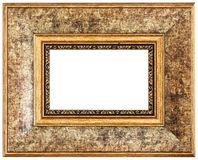 Yellow picture frame Royalty Free Stock Photography