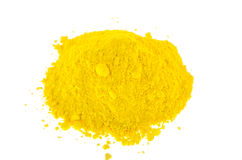 Yellow pigments Royalty Free Stock Image