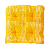 Yellow pillow Stock Photos