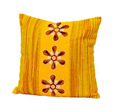 Yellow pillow Royalty Free Stock Photos