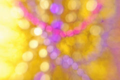 Yellow pink purple abstract background Royalty Free Stock Photography