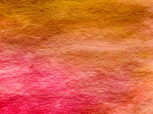 Yellow Pink Red Orange Watercolor Background Stock Photos